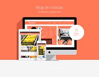 Blog para Empresa Loguei.com
