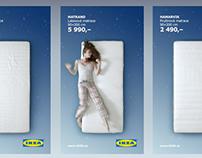 IKEA Mattresses - interactive poster
