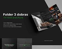 Tri-Fold Brochure - Folder 3 dobras - Business