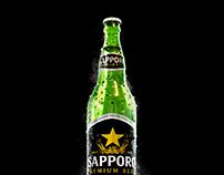 Sapporo Beer | Modelagem 3D
