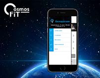 "Mobile app ""CosmosFit"""