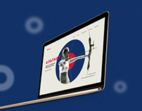 Case design for the website sports archery