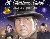 """DVD Cover for """"A CHRISTMAS CAROL"""""""