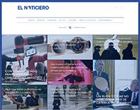 Redesign of elnoticiero.com.ec