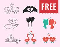 JI-Valentine Icons (FREE SET)