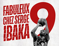 Serge Ibaka X Chez Serge