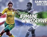 Samford Soccer: Social Media Graphics