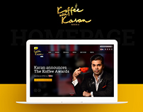 Koffee With Karan Website