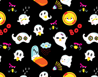 Whimsical Seamless Patterns