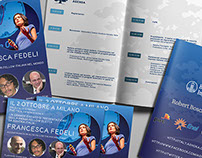 Brochure e Flyers for Ashoka Italy