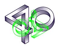 40 under 40 / Visual Identity