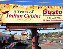 Gusto Italian Restaurant Outdoor: Before and After