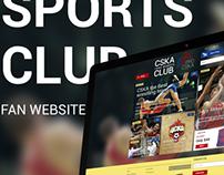 Sport Club Fans Website