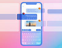 Cristal Clear IphoneX Chat