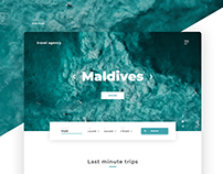 Travel Agency | Web desing