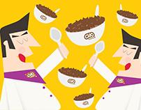 Cho Cereal (Illustration & Packaging Design)