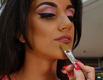 """THINK PINK"" makeup for Elaine BwZ WUD"