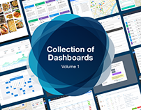 Collection of Dashboard Designs - Volume 1
