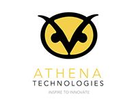 Athena Technologies Logo Design