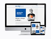 EXATEC Talks / Web Concept