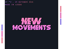 """""""NEW MOVEMENTS"""" EP Cover"""