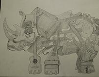 Guitar Rhinoceros
