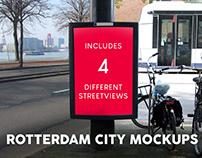 Rotterdam city mockups
