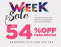 Week Sale - Wine.com.br