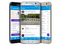 J-Land, mobile app design