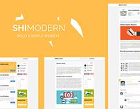Shimodern Bold Design