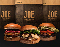 JOE Hamburgueria | Packaging