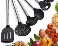Amazon Product Photography - Kitchen Utencils Set