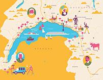 Maps for Pervoe.Vtoroe.Tretje magazine