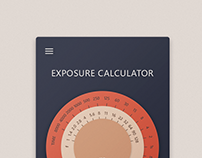 Exposure calculator