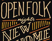 Poster Open Folk