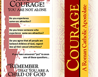 PRINT: Courage Brochure