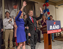 Rand Paul for President 2016 - Iowa Caucus After Party