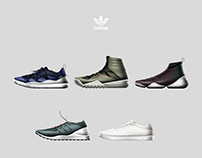 adidas originals men's footwear design task