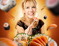 Sushi Mori | Mídias Sociais