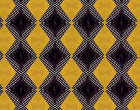 Patterns black&gold