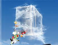 Buffalo Cloudstation key-visual 2011
