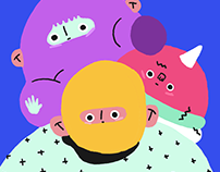 bright illustrations