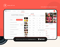 Roletik - Online software for casting management