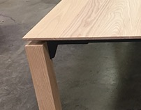 Custom Ash Conference Table | Nike WHQ