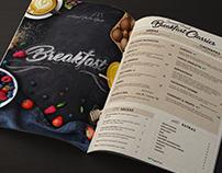 Graphic Design - Ref: Restaurant Menu