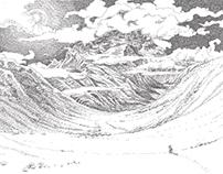 the veiled peak
