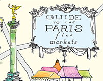 Market Map from the book Paris Flea Market Style