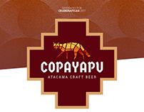 Diseño de marca y etiquetas para cervecería Copayapu
