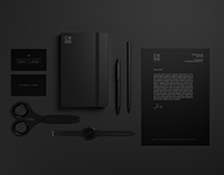 High Resolution Black Stationary Mockups