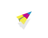 Paper Airplane - Logo Mark